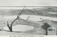 Red Rocks, Showing Lake Corangamite in the distance, Colac
