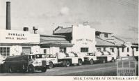 Milk Tankers at Dumbalk Depot