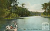 Spearing Fish - Lake Tyers, Gippsland