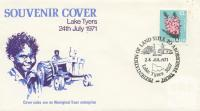 Souvenir Cover Lake Tyers, 1971