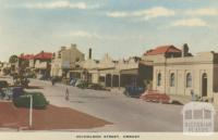 Nicholson Street, Orbost, 1948