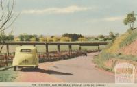 The Highway and Railway Bridge outside Orbost, 1948