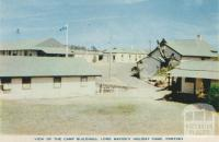 View of the camp buildings, Lord Mayor's Holiday Camp, Portsea