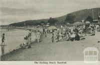 The Bathing Beach, Rosebud, 1942