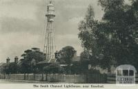 The South Channel Lighthouse, near Rosebud, 1942