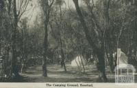 The Camping Ground, Rosebud, 1942