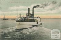 The Williamstown Steam Ferry Boat - The Gun, 1906
