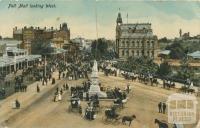 Pall Mall looking West, Bendigo, 1913
