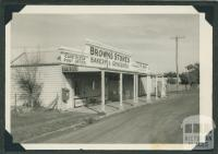 Browns Stores and Cape Clear Post Office, 1968