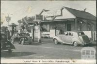 General Store and Post Office, Peterborough, 1934