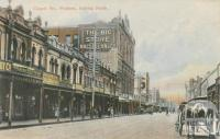 Chapel Street, looking north, Prahran