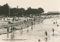The  beach, Queenscliff