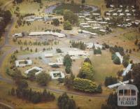 Aerial view of Rawson, 1987