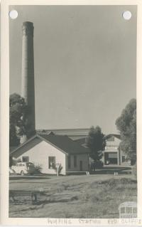Pumping Station, Red Cliffs, 1949