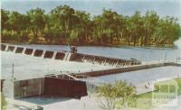 Lock and Weir, Robinvale, 1966