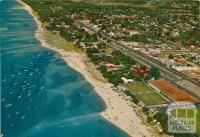 Aerial view of Peninsula Paradise Beach Resort, Rosebud