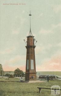 Soldier's Monument, St Kilda