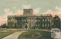 Town Hall, St Kilda, 1906