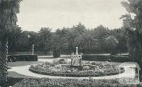 The Fountain and Gardens, St Kilda