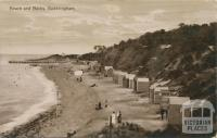 Beach and Baths, Sandringham, 1913