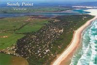 Aerial view of Sandy Point