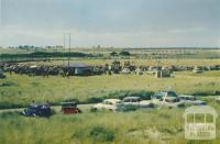 Sports day at Seaspray, 1975