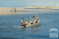 On the Creek at Seaspray, 1975