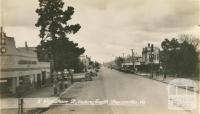 Wyndham Street, looking south, Shepparton