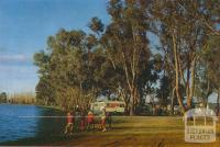 The Caravan Park on the shores of Lake Victoria, Shepparton