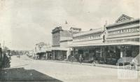 Main Street, looking south-west, Stawell, 1935