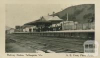 Railway Station, Tallangatta, 1916