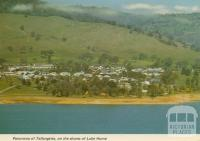 Panorama of Tallangatta, on the shores of Lake Hume