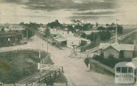 Hogan Street from Fire Bell, Tatura, 1906