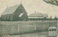The Presbytery and Roman Catholic Church, Tatura, 1906