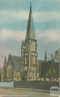 Presbyterian Church, Toorak, 1906