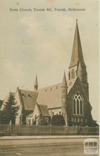 Scots Church, Toorak Road, Toorak