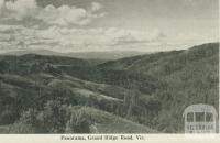 Panorama, Grand Ridge Road