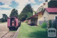 Heritage Trentham Coliban Railway Station