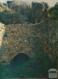 Ruins of Lime Kilns at Walkerville South, 1978