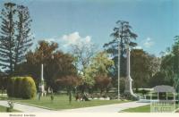 Memorial Gardens, Wangaratta