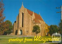 View of Holy Trinity Anglican Cathedral, Wangaratta