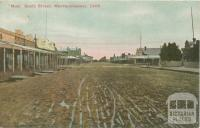Mud, Scott Street, Warracknabeal, 1908