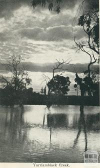 Yarriambiack Creek, Warracknabeal, 1925