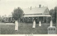 The Hospital, Warracknabeal, 1925