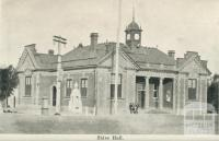 Shire Hall, Warracknabeal, 1925