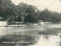 Swimming Pool, Warracknabeal, 1945