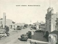 Scott Street, Warracknabeal, 1945