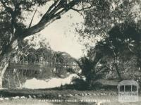 Yarriambiac Creek, Warracknabeal, 1945