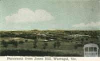 Panorama from Jones Hill, Warragul