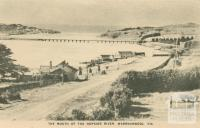 The Mouth of the Hopkins River, Warrnambool, 1945